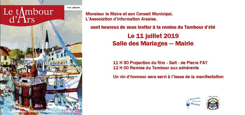 Read more about the article Sortie officielle du Tambour numéro 89