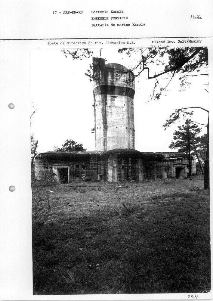 Le site de Karola, patrimoine historique de la deuxième guerre mondiale . Telemetre-entier